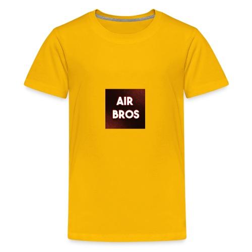 Black merch AIR BROS - Kids' Premium T-Shirt