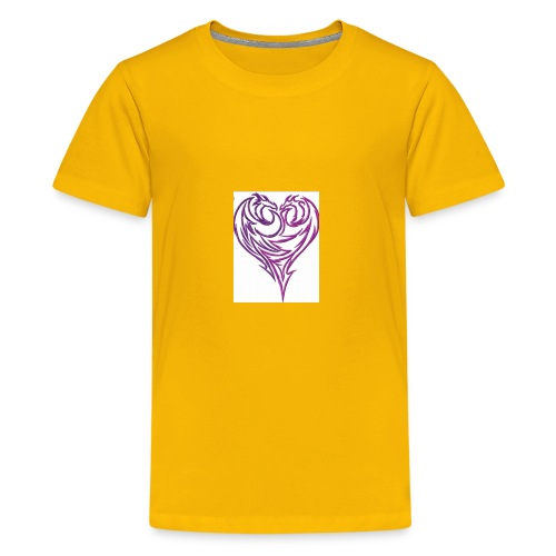 Jikjak heart - Kids' Premium T-Shirt