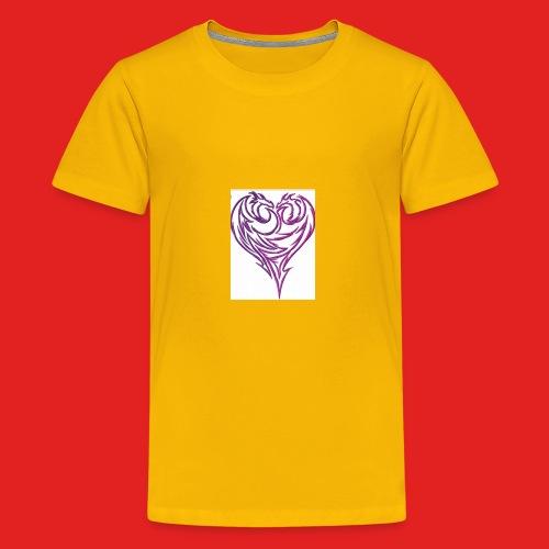 Jikjak heart - Kids' Premium T-Shirt