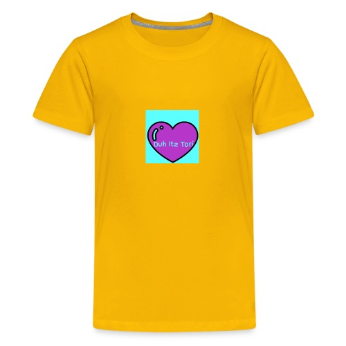 Tori's Logo Hoodie - Kids' Premium T-Shirt