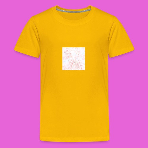 cute flower design - Kids' Premium T-Shirt