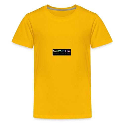 Cryptic Bonus Logo - Kids' Premium T-Shirt
