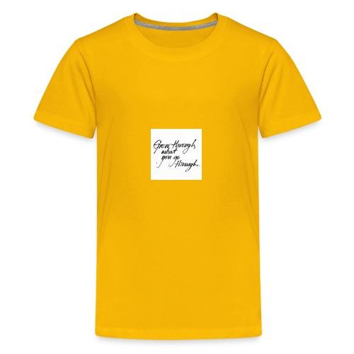 E0FFE190 1D38 4A87 B955 D01DD7C5DD27 - Kids' Premium T-Shirt