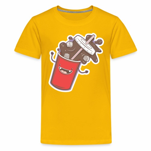 Soda Fall - Kids' Premium T-Shirt