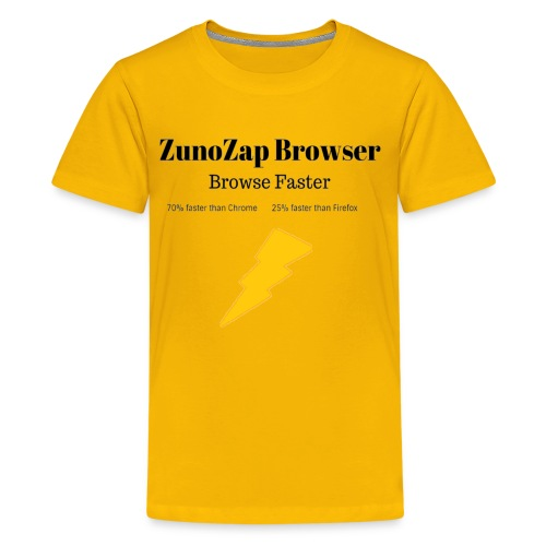 ZunoZap Merch (2nt design) - Kids' Premium T-Shirt