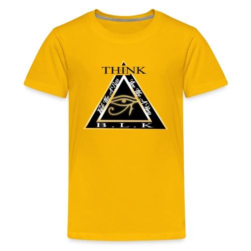 Think B.L.K. (The Vision) - Kids' Premium T-Shirt