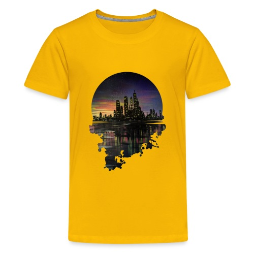 City Lights - Kids' Premium T-Shirt