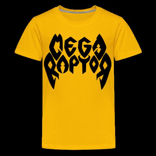 Megaraptor Logo Black - Kids' Premium T-Shirt