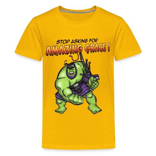 hulk title 2 - Kids' Premium T-Shirt