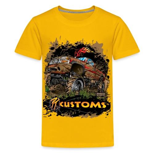 Mud Truck PT Customs - Kids' Premium T-Shirt