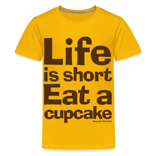 Life is Short VECTOR - Kids' Premium T-Shirt