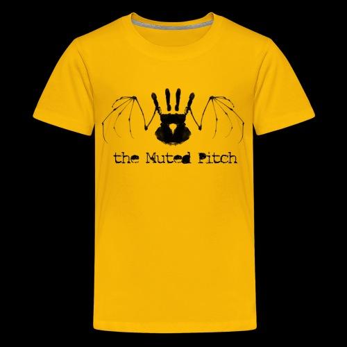 Death Bat BW Black png - Kids' Premium T-Shirt