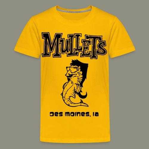 mulletmain black - Kids' Premium T-Shirt