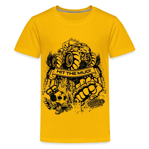 Mudding Jeep Shirt - Kids' Premium T-Shirt
