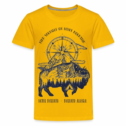 EGYPT MOUNTAIN TSHIRT - Kids' Premium T-Shirt
