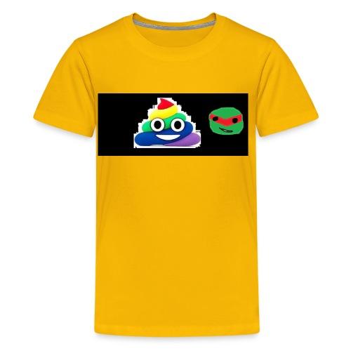ninja poop - Kids' Premium T-Shirt