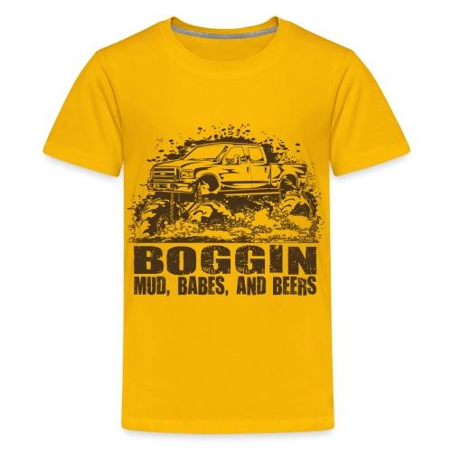 Mud Truck Beer Boggin - Kids' Premium T-Shirt