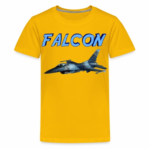 F-16 Fighting Falcon - Kids' Premium T-Shirt