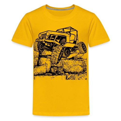 Off Road Rock Crawling - Kids' Premium T-Shirt