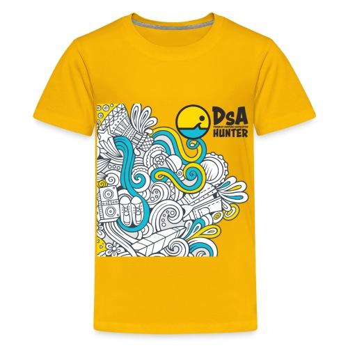 DSA Hunter - Funky Design - Kids' Premium T-Shirt