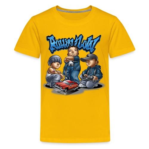 Lil Hopper by RollinLow - Kids' Premium T-Shirt