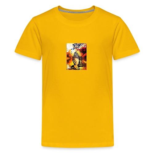 Being Thankful - Kids' Premium T-Shirt