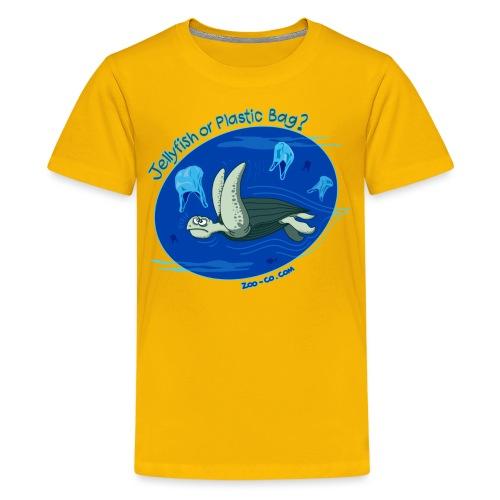 Jellyfish or Plastic Bag? - Kids' Premium T-Shirt