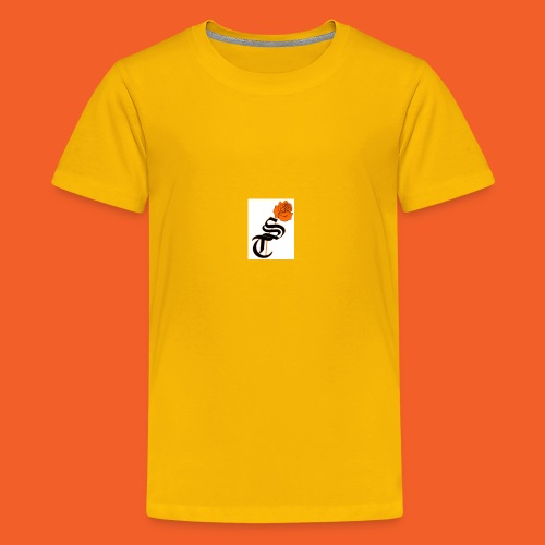 ST rose design - Kids' Premium T-Shirt