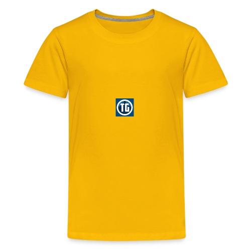 typical gamer shirts and jackets - Kids' Premium T-Shirt