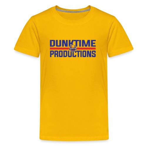 DUNKTIME Retro logo - Kids' Premium T-Shirt
