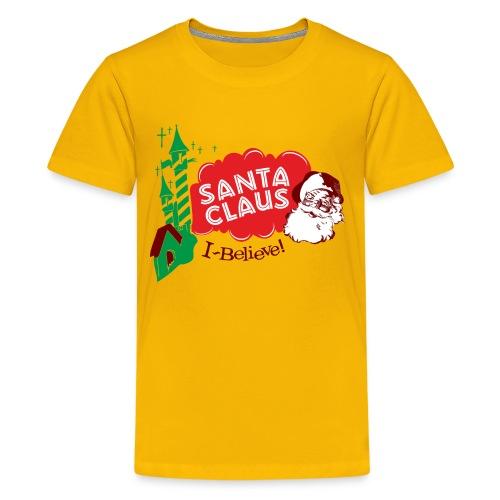 Santa Claus I believe! - Kids' Premium T-Shirt