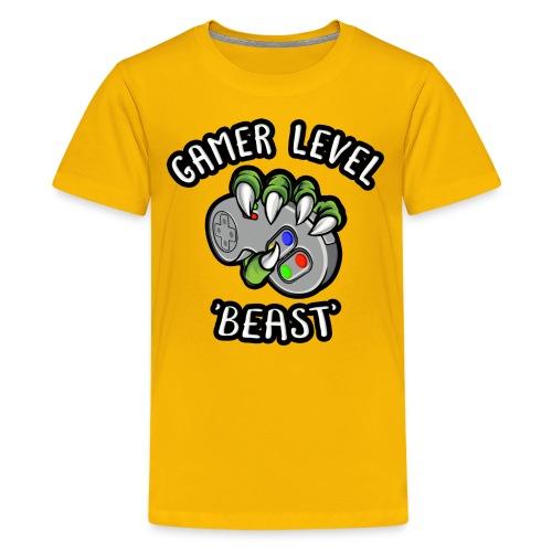 GAMER LEVEL - Kids' Premium T-Shirt