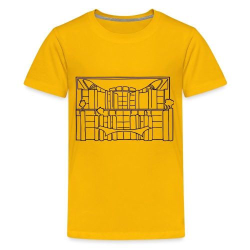 Chancellery in Berlin - Kids' Premium T-Shirt