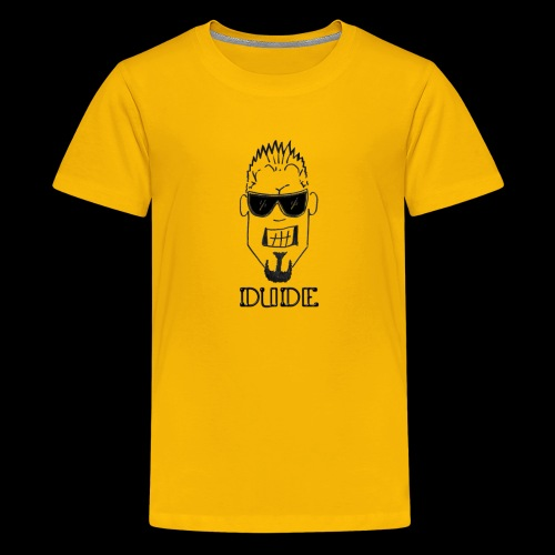 Dude Head 1 - Kids' Premium T-Shirt