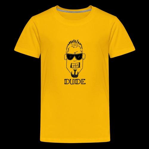 Dude Head 1 - Kids' Premium T-Shirt