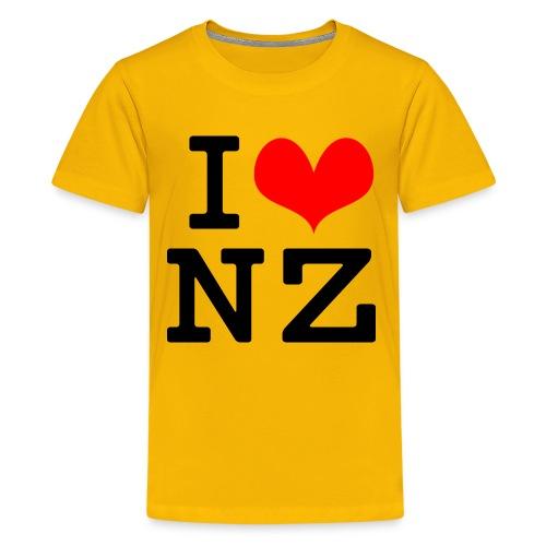 I Love NZ - Kids' Premium T-Shirt