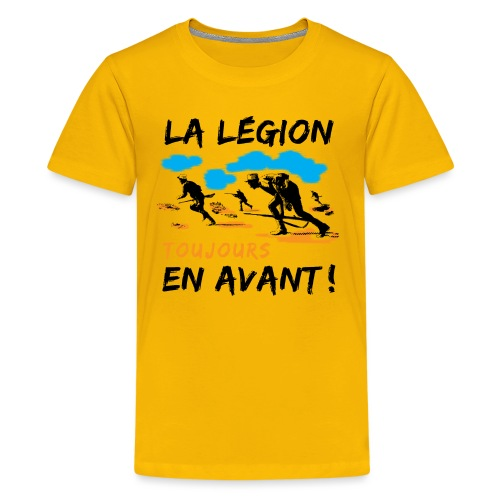 La egion-toujours-en-avan - Kids' Premium T-Shirt
