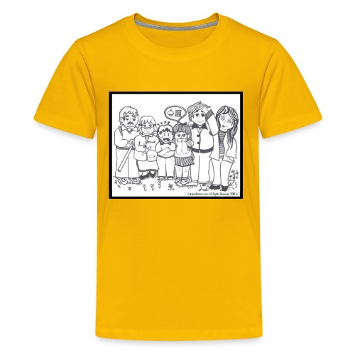 The Extreme Dieters - Kids' Premium T-Shirt