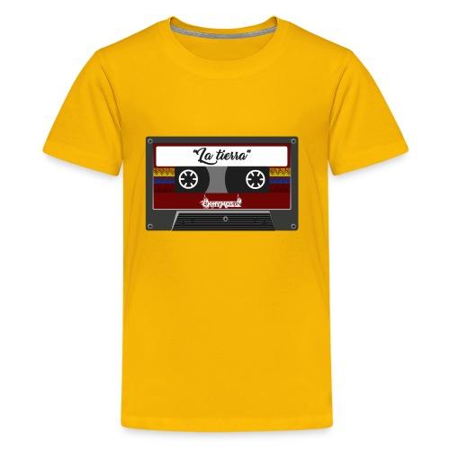 cassette la tierra - Kids' Premium T-Shirt