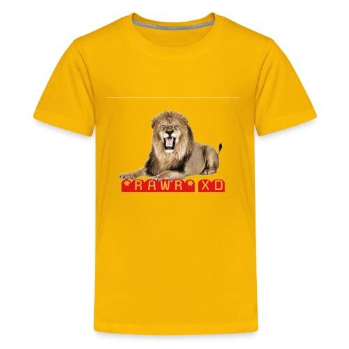 RAWR XD - Kids' Premium T-Shirt