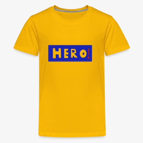 hero shirt - Kids' Premium T-Shirt