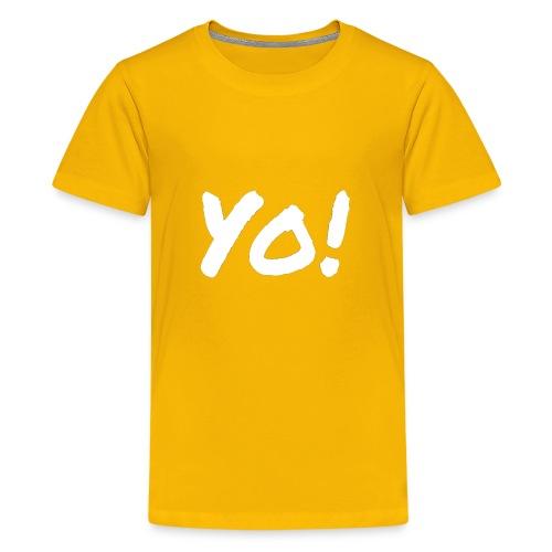 Yo! - Kids' Premium T-Shirt