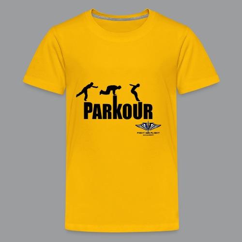 Parkour Text Kong Precision - Kids' Premium T-Shirt
