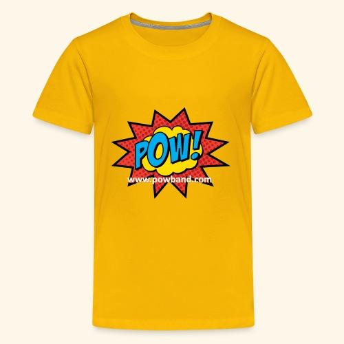 POW! Logo Shirt - Kids' Premium T-Shirt