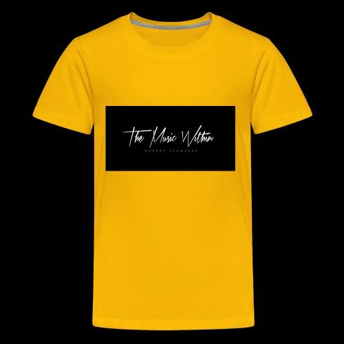 the music within mens hoodie - Kids' Premium T-Shirt