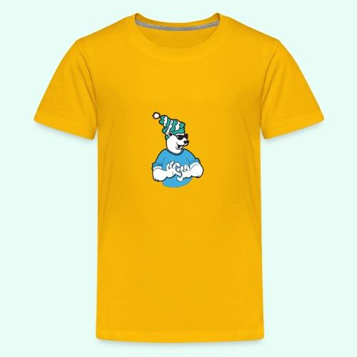 Sarcasm XD Poaly the Polar bear - Kids' Premium T-Shirt
