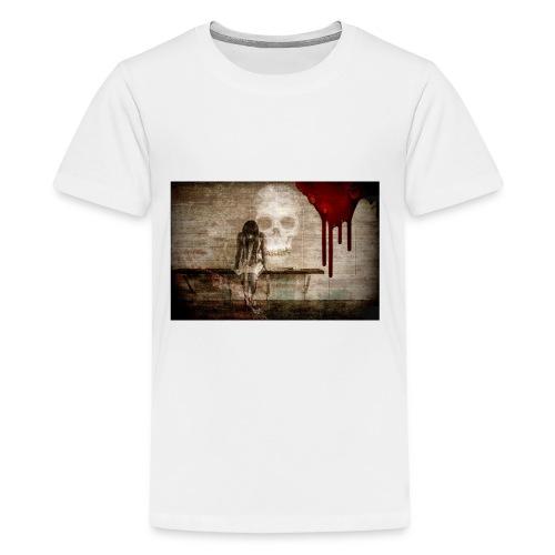 sad girl - Kids' Premium T-Shirt