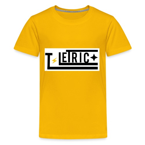 T-LETRIC Box logo merchandise - Kids' Premium T-Shirt