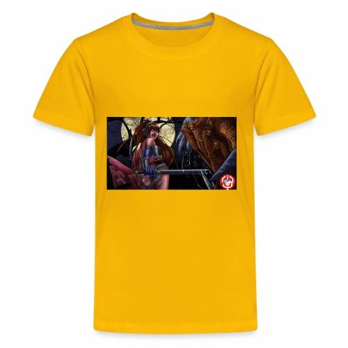Anime Demon Hunter - Kids' Premium T-Shirt