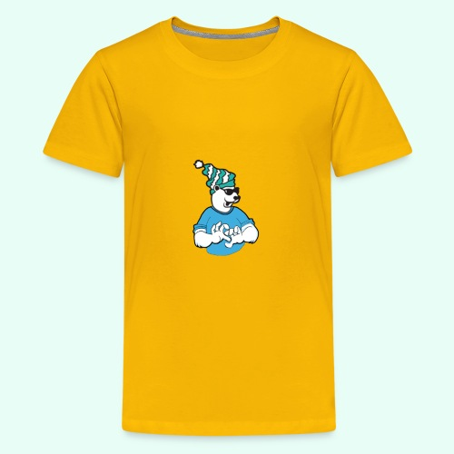 Sarcasm XD Poaly the Polar bear - Kids' Premium T-Shirt